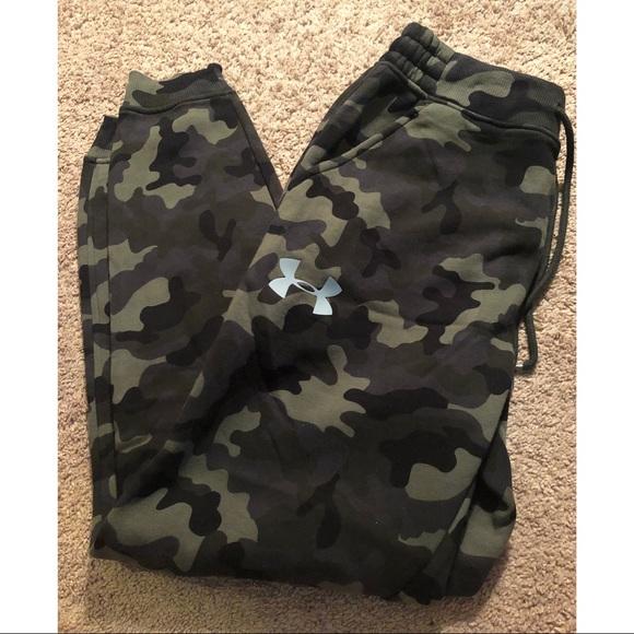 fantastyczne oszczędności 100% autentyczny wylot NWT Under Armour camouflage joggers sweatpants NWT
